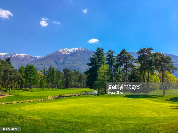 Hole 8 in Golf Course in Ascona