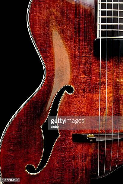 F Loch-Gitarre