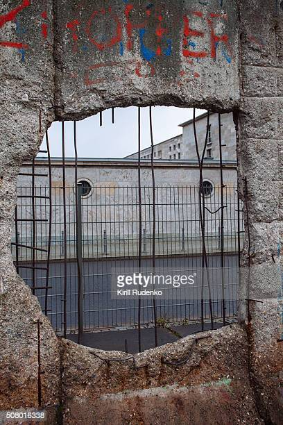 A hole in the berlin wall