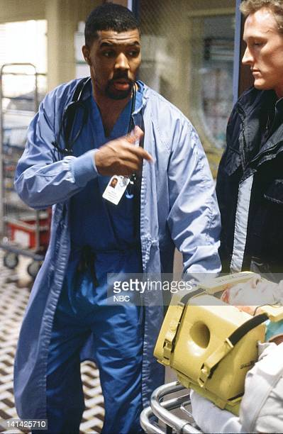 ER A Hole in the Heart Episode 22 Air Date Pictured Eriq La Salle as Doctor Peter Benton Photo by Paul Drinkwater/NBCU Photo Bank