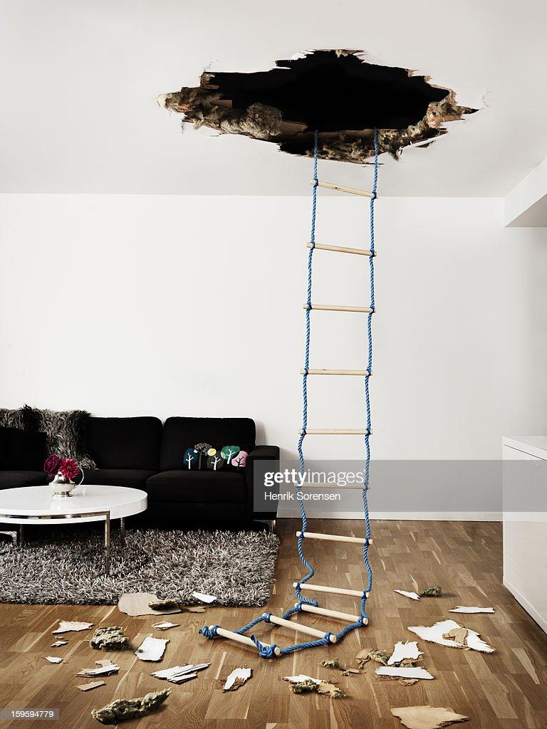Hole in the Wall : Foto de stock