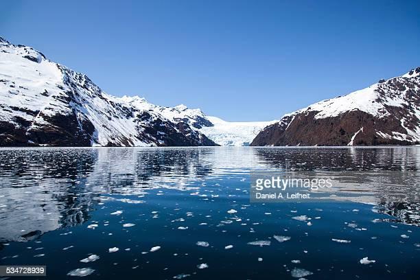 holgate glacier - kenai mountains stock pictures, royalty-free photos & images