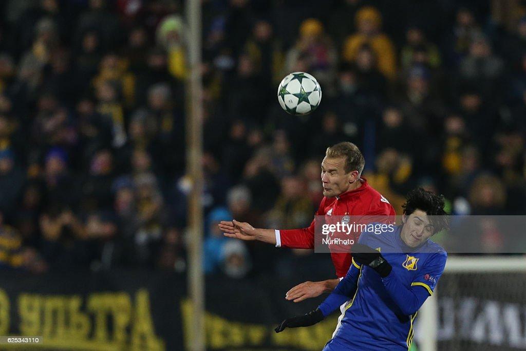 FC Rostov v FC Bayern Muenchen - UEFA Champions League : News Photo