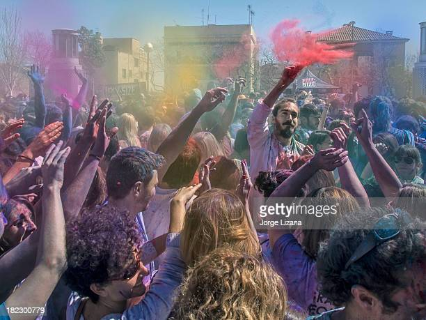 CONTENT] Holi celebration in Barcelona