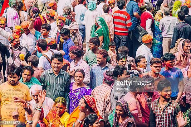 ホーリー祭、インドでのお祝い