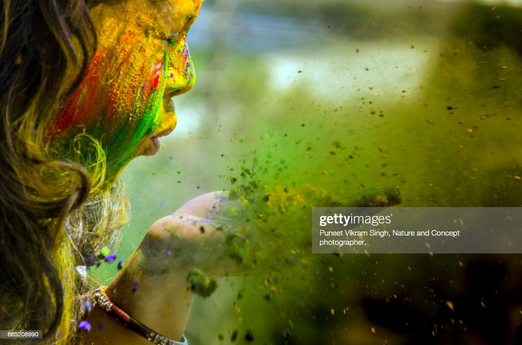 Holi Celebration : Foto stock