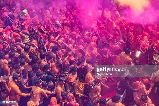 Holi celebrations, Dauji Temple, Mathura