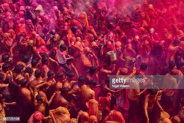 Holi Celebrations, Mathura