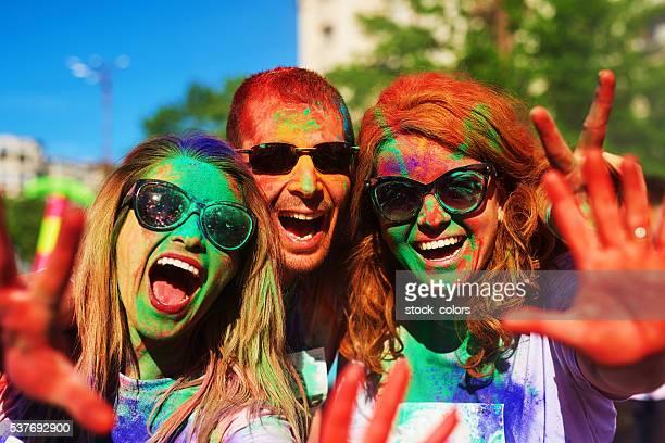 holi color festival mood
