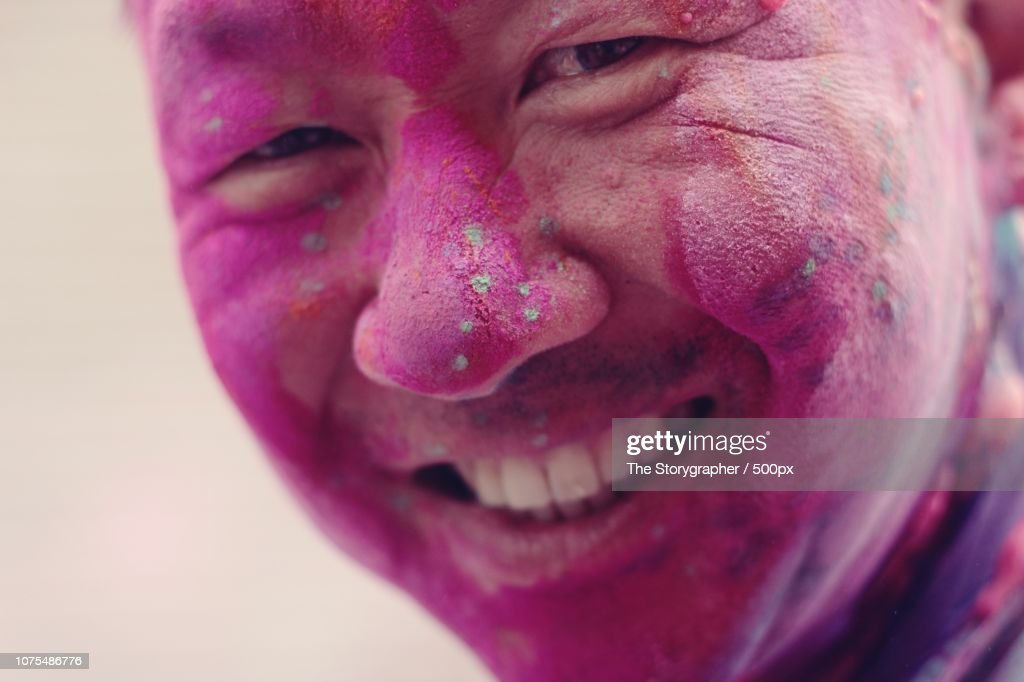 Holi, Festival of colours : Stock Photo