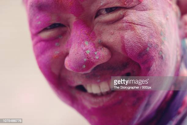 holi, festival of colours - the storygrapher stock-fotos und bilder