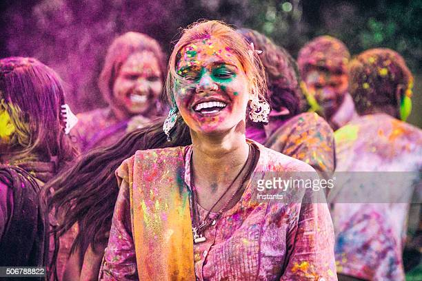 holi festival - holi stock pictures, royalty-free photos & images