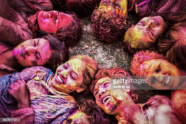 Holi friends