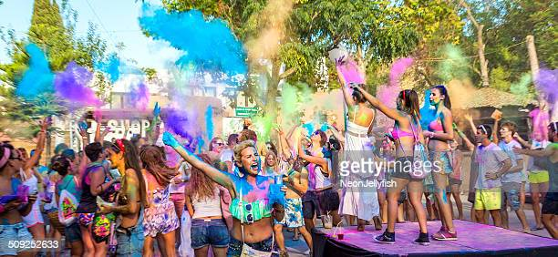 holi garden - ibiza island stock pictures, royalty-free photos & images