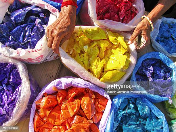 holi in pakistan - pakistani culture stock photos and pictures