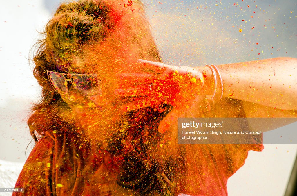 Holi : Stock Photo