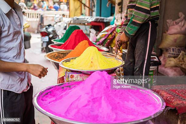 Holi Powder, Vrindavan, India
