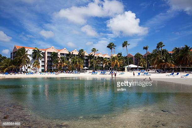 holiday apartments with pool - renaissance stock pictures, royalty-free photos & images