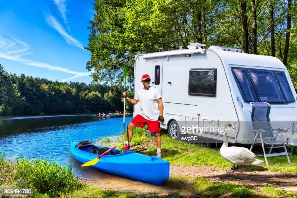 Urlaub am Fluss Krutynia in Masuren Land, Polen