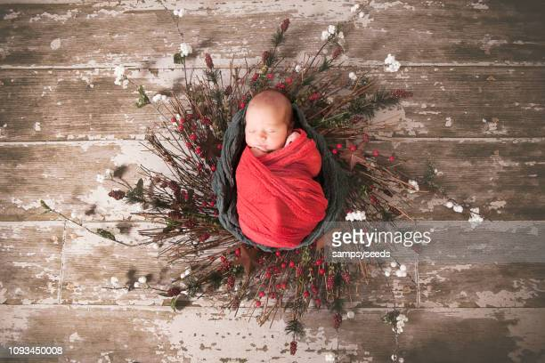 holiday baby - rock baby sleep stock pictures, royalty-free photos & images