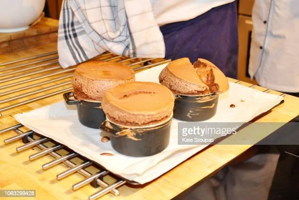 holiday baking - soufflé stock-fotos und bilder