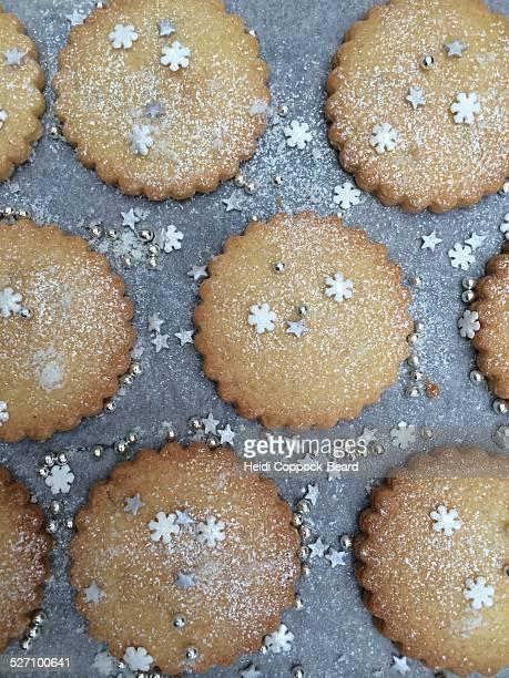 holiday baking - heidi coppock beard stock-fotos und bilder