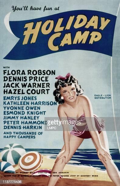 Holiday Camp poster Hazel Court 1947