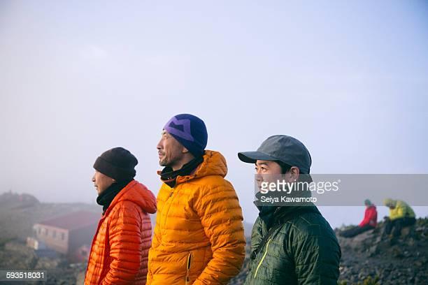 holiday climbing - 防寒着 ストックフォトと画像