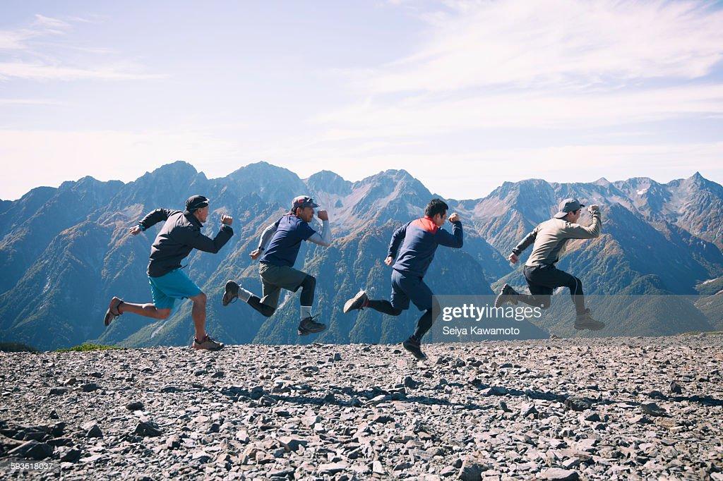 Holiday Climbing : ストックフォト