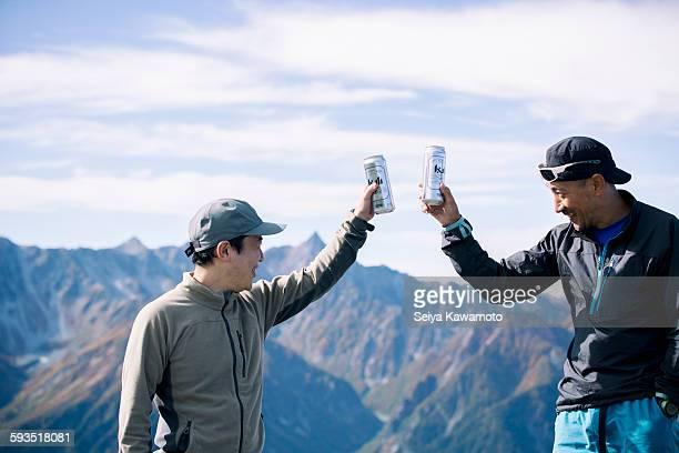 holiday climbing - 乾杯 ストックフォトと画像