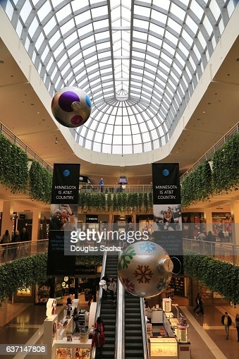 holiday decorations at the shopping mall mall of america bloomington minnesota usa stock photo getty images - Mall Of America Christmas Decorations
