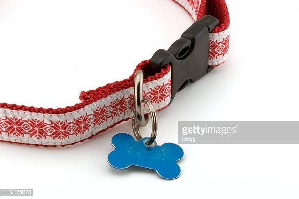 Holiday Dog collar in Red
