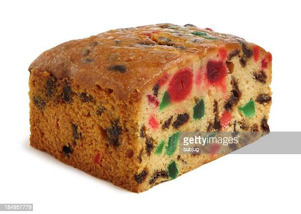 holiday fruit cake - fruit cake stock pictures, royalty-free photos & images