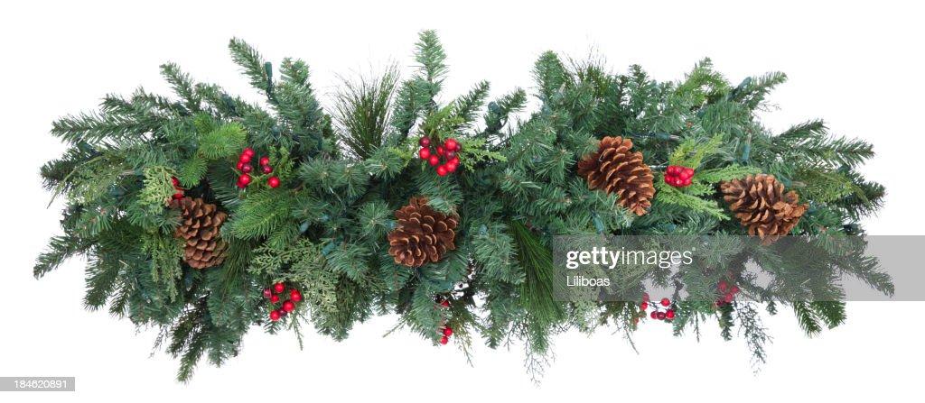 Holiday Garland : Stock Photo