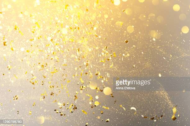 holiday glittering background in trendy colors of the year - anniversary stock pictures, royalty-free photos & images