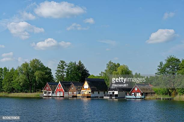 holiday homes, Mirow lake
