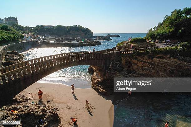 Holiday in Biarritz.