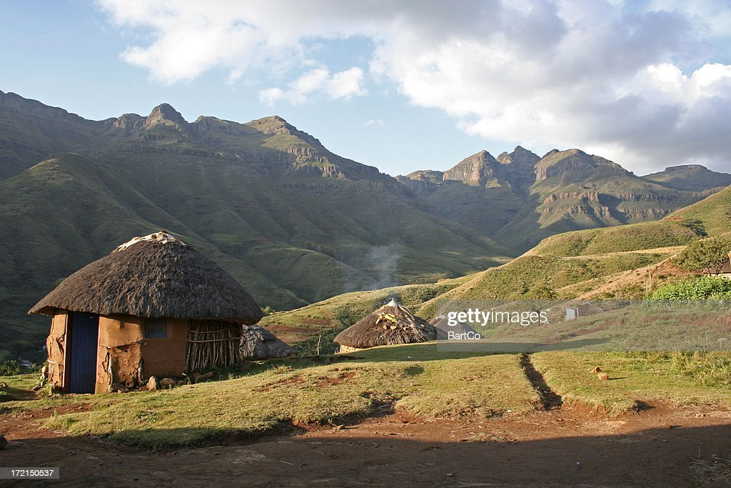 Holiday in Lesotho : Stock Photo