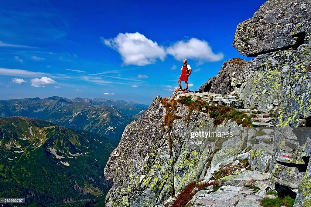 Holiday in the Tatra Mountains : Stock Photo