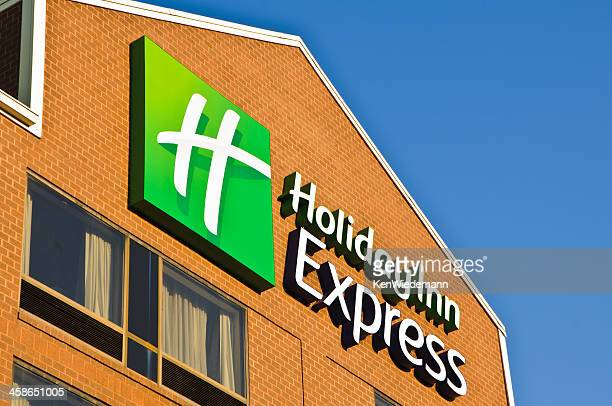 holiday inn express facade - hanover new hampshire stock pictures, royalty-free photos & images