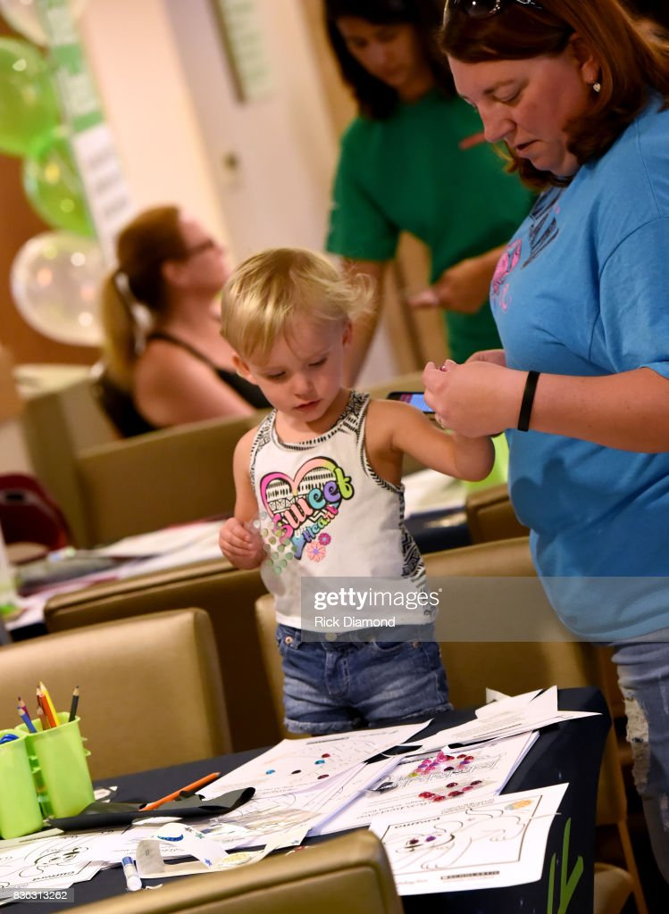 Holiday Inn hosts an Eclipse viewing party with Scholastic as part of the culmination event to the 'Summer of Smiles' program on August 21, 2017 in Nashville, Tennessee.