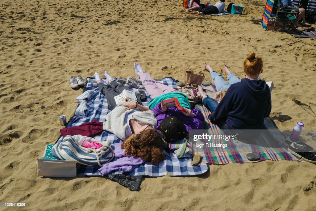Cornwall Reopens To Summer Tourists : News Photo