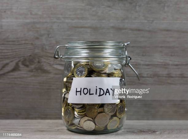 holiday money savings - vacations stock pictures, royalty-free photos & images