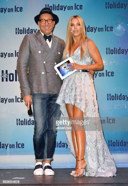 Holiday on Ice präsentiert neue Show TIME ganz im Zeichen der Zeit Sylvie Meis und Thomas Rath