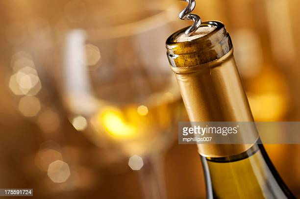 holiday party - wine cork stock photos and pictures