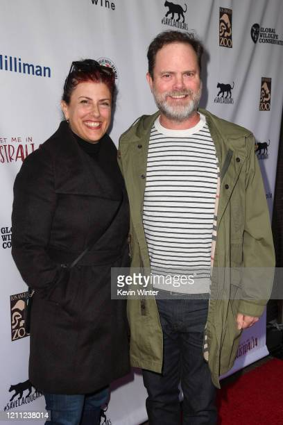 """Holiday Reinhorn and Rainn Wilson attend """"Meet Me In Australia"""" To Benefit Australia Wildfire Relief Efforts, hosted by The Greater Los Angeles Zoo..."""
