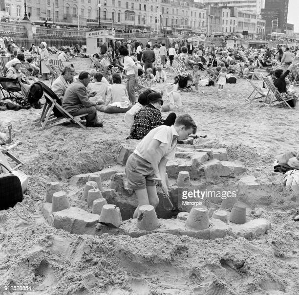 Holiday scenes in Margate, Kent. August 1963.