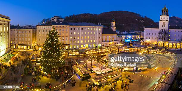 holiday season - salzburger land stock pictures, royalty-free photos & images