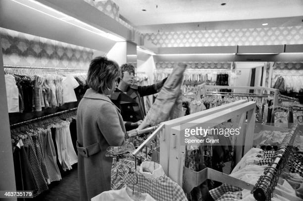 Holiday shoppers Chestnut Hill Mall Newton Massachusetts 1978