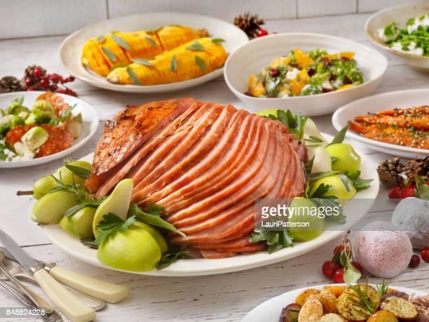 Holiday Spiral Ham Dinner